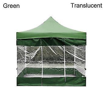 حزب جديد في الهواء الطلق للماء أكسفورد القماش الخيام Gazebo الملحقات غطاء مظلة واقية من المطر (الأخضر)