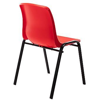 Esszimmerstuhl - Esszimmerstühle - Küchenstuhl - Esszimmerstuhl - Modern - Rot - Metall - 47 cm x 52 cm x 76 cm