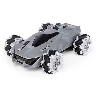 Robotic toys rc led remote control car rechargeable car remote control roll car kids robot rc cars toys
