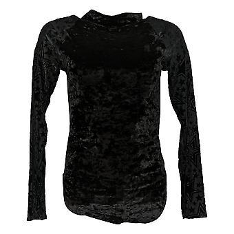 WynneLayers By MarlaWynne Bodysuit Long And Mesh Sleeve Black 719268