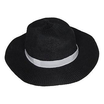 Carlos by Carlos Santana Women's Hat Panama Black 742842