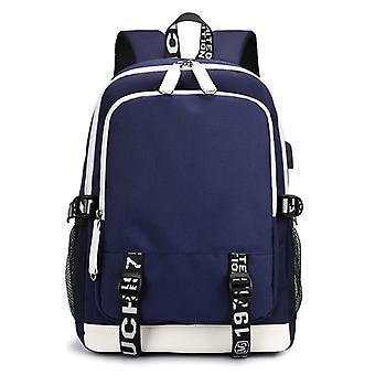 学校バックパックガールバッグの男の子バッグとエルゴノミックデザインバックパックキャンパスバックパックナイロン防水