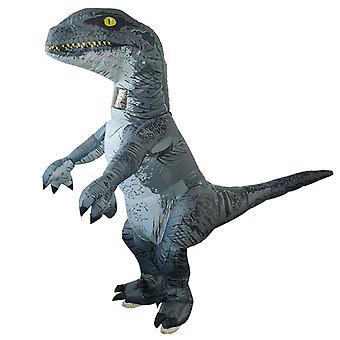 Velociraptor (felnőtt változat) Halloween Cosplay Tyrannosaurus Rex felfújható jelmez dinoszaurusz jelmez