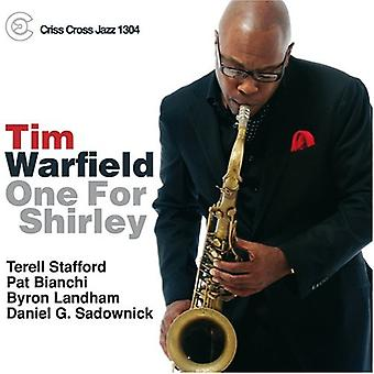 Tim Warfield - One for Shirley [CD] USA import