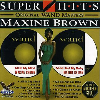 Maxine Brown - Super Hits [CD] USA import