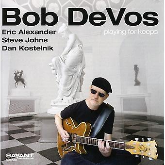 Bob Devos - Playing for Keeps [CD] USA import