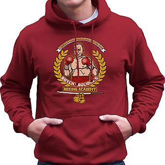 Butch Coolidges Boxing Academy Pulp Fiction Men's Hooded Sweatshirt