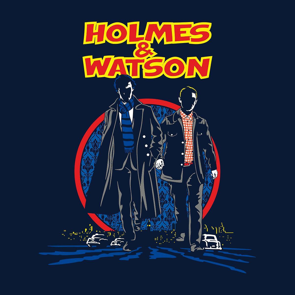 Sherlock Holmes y de Watson los hombres chaqueta Varsity