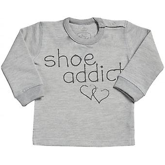 Spoilt Rotten Shoe Addict Long Sleeve Sweater