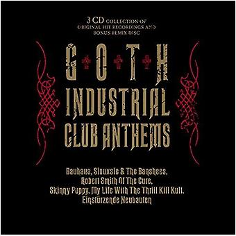 Verschiedene Künstler - Gothic Industrial Club Anthems [CD] USA import