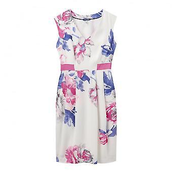 Joules Helena V Neck Crepe Ladies Dress (U)