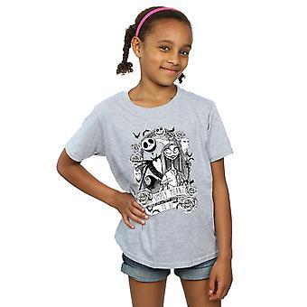 Дисней девушки кошмар перед Рождество просто означало быть футболку