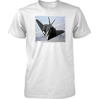 F-117 Nighthawk Heimlichkeit Schlachtflugzeug - T-Shirt für Herren