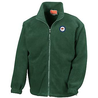 Australske Air Force RAAF rondell brodert Logo - Full Zip Fleece