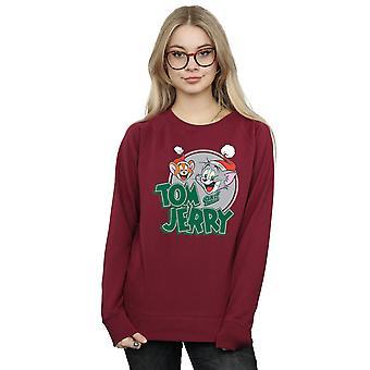 Tom And Jerry Women's Christmas Greetings Sweatshirt