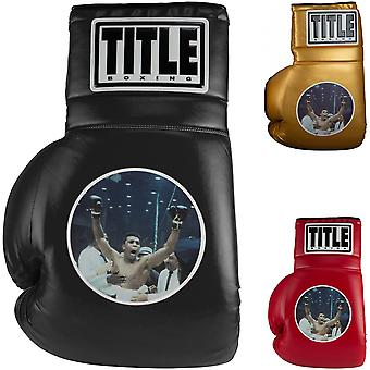 """Title Boxing Jumbo 26"""" Ali Picture Collectible Novelty Boxing Glove"""