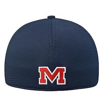 """Ole Miss oprørerne NCAA blår """"Booster"""" Memory Fit Hat"""