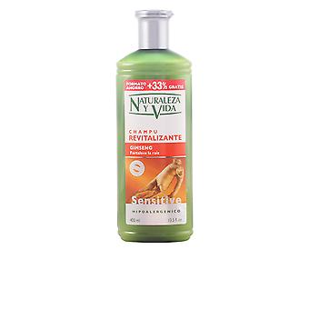 Natur Vital Shampoo Sensitive Revitalizante 300 Ml Unisex