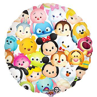 Anagram 18 Inch Tsum Tsum Design Circle Foil Balloon