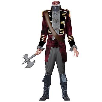 Sleepy Hollow Headless Horseman Medieval Ghost Deluxe Fox Series Mens Costume