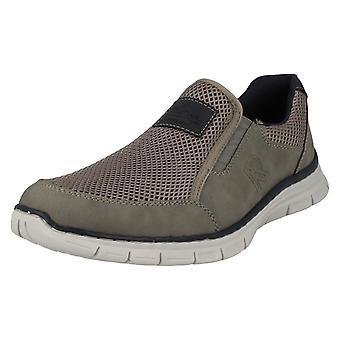 Mens Rieker Slip Casual em sapatos B4873