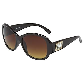 Elegant sunglasses for women by Burgmeister with 100% UV protection | solid polycarbonate frame, high quality sunglasses case, microfiber glasses pouch and 2 years warranty | SBM109-242 Barcelona