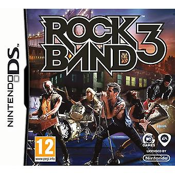 Rockband 3 (Nintendo DS) - Fabrik versiegelt
