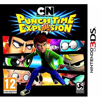 Cartoon Network  Punch Time Explosion (Nintendo 3DS) - New