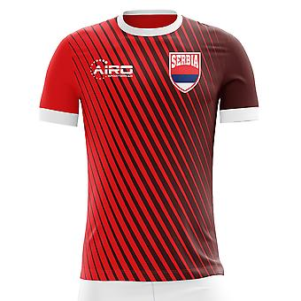 2020-2021 Serbia Home Concept Football Shirt - Womens
