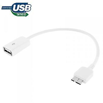 USB 3.0 מחבר OTG עבור הערה סמסונג גלקסי 3 N9000 N9005 LTE