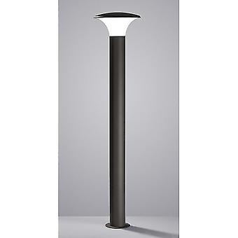 Trio Kongo Anthracite moderne en Aluminium moulé sous pression poteau d'éclairage