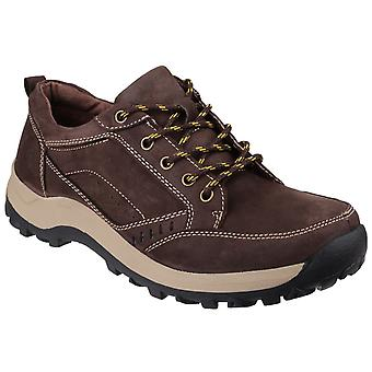Cotswold Mens Nailsworth Lace Up Schuh braun