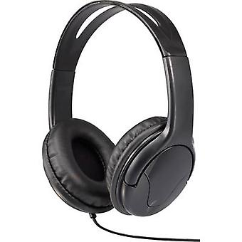 Renkforce HP-960S On-ear headphones On-ear Black