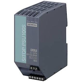 Siemens SITOP PSU100S 12 V/7 A Rail mounted PSU (DIN) 12 V DC 7 A 80 W 1 x