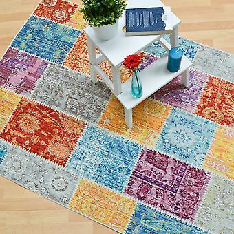 Verve multi färgade mattor Ve05