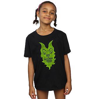 Disney Mädchen die Nachkommen Maleficent sie schaut T-Shirt