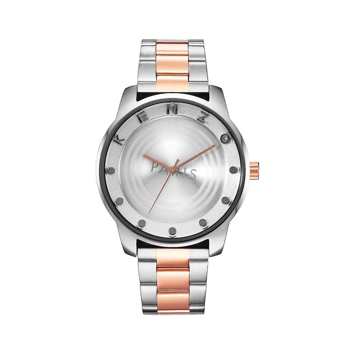 Kenzo K0054002 Mens Two-Tone Stainless Steel Watch