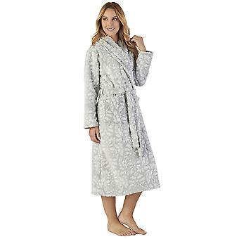 Σεντερέλλα HC2351 γυναίκες ' s πολυτέλεια φλις μοτίβο ρόμπα ρούχα για το μπάνιο