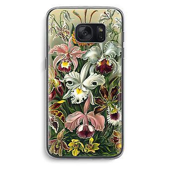 Samsung Galaxy S7 Transparent Case (Soft) - Haeckel Orchidae