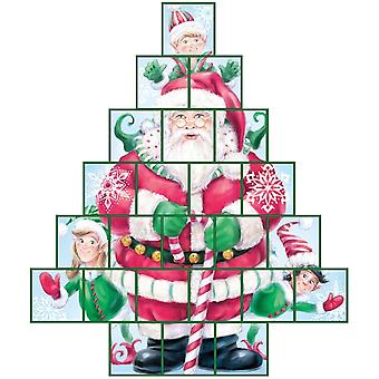 Secret Santa Treasure Box Advent Calendar (Countdown to Christmas)
