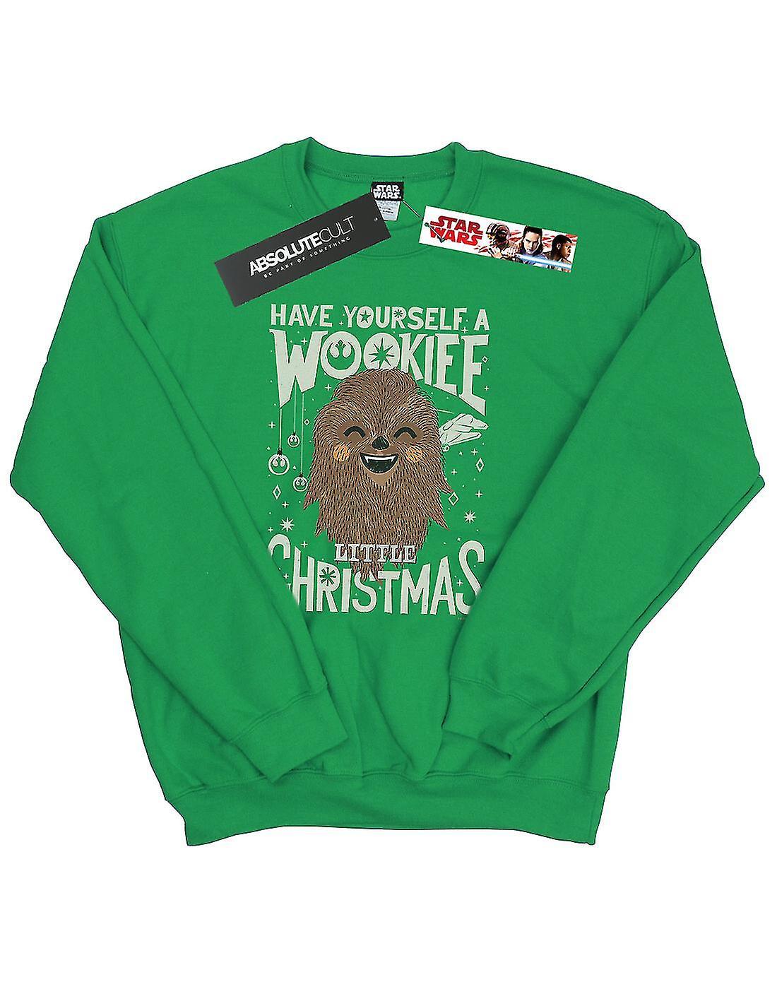Star Wars Men's Wookiee Little Christmas Sweatshirt