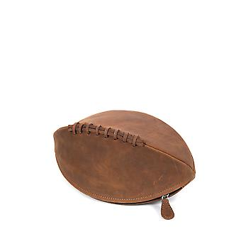 Hunter Rugby boule lavage cuir sac Tan