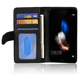 Cadorabo tilfelle for Huawei P8 LITE 2017 case cover - telefonveske med magnetisk lukking og 3 kort tilfeller - case cover beskyttende sak bok folding stil
