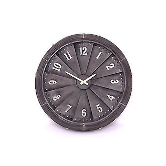 62Cm Jet Propeller Shape Metal Wall Clock Home Decoration