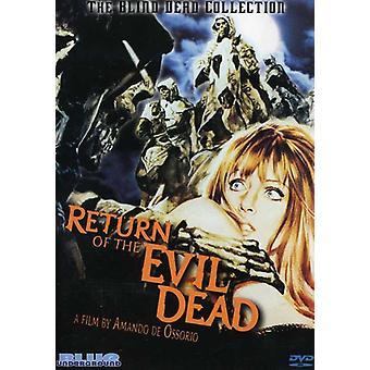 Return of the Evil Dead [DVD] USA import