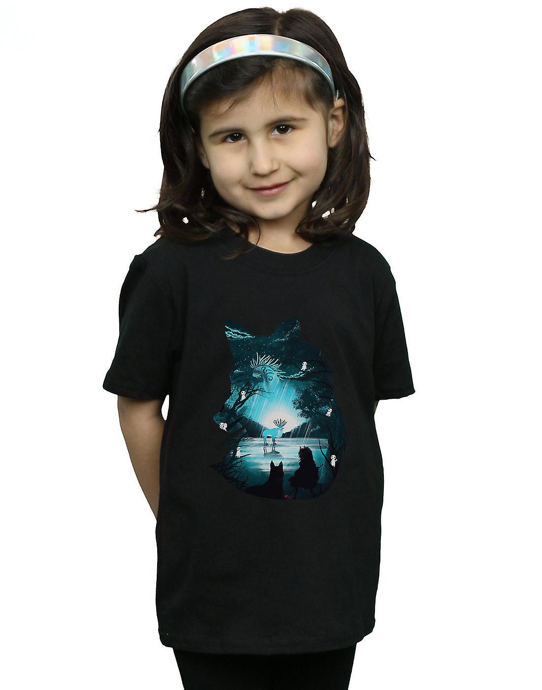 Dan Dingeroz Girls Mystical Wolf T-Shirt