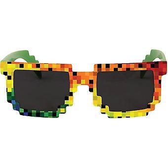 Pixel Glasses Rainbow