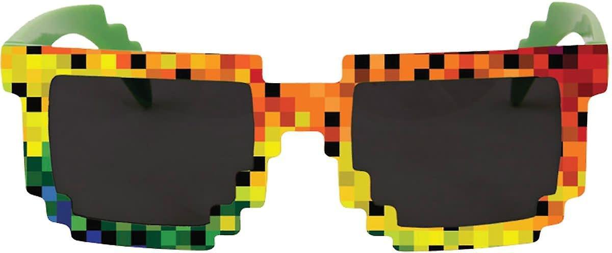 Rainbow okulary pikseli