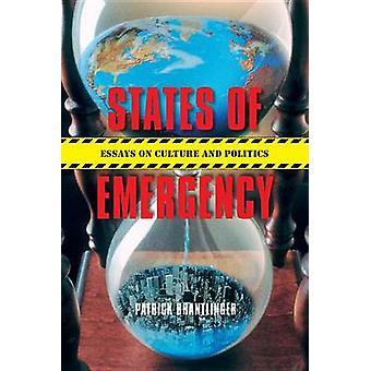 States of Emergency by Patrick M. Brantlinger