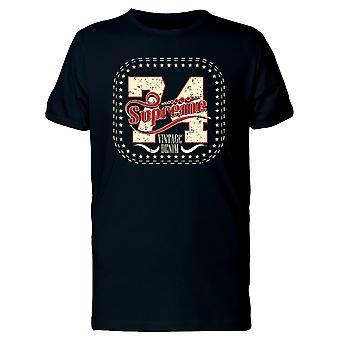 Obersten 74 Vintage-Denim T-Shirt Herren-Bild von Shutterstock
